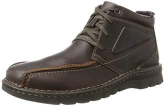 Clarks Men's Vanek Rise Boots, (Brown Oily