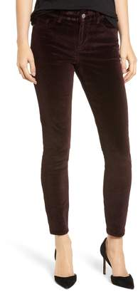 DL1961 Margaux Instasculpt Ankle Skinny Velvet Pants
