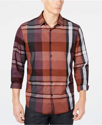 Alfani Men's Plaid Shirt