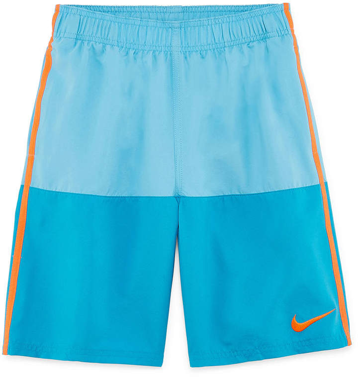 8 Color Block Swim Trunk - Boys 8-20
