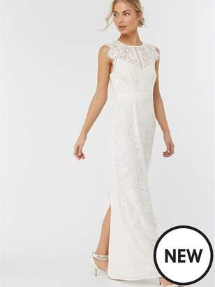 Monsoon Leomie Lace Maxi Dress - Ivory