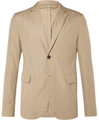 Acne Studios Beige Antibes Slim-Fit Cotton Suit Jacket