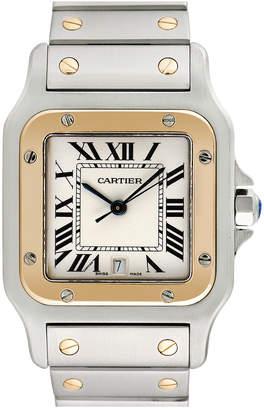 Cartier Heritage  1990S Men's Santos Galbee Watch