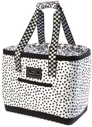 Mackenzie Childs MacKenzie-Childs The Boat Tote Dotty Insulated Tote Bag