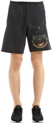 Yeezy Printed Cotton Sweat Shorts