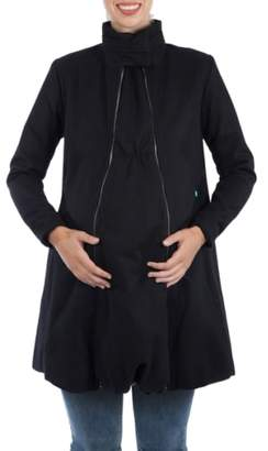 Modern Eternity A-Line Convertible 3-in-1 Maternity Swing Coat