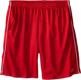 Champion Men's Big-Tall Mesh Shorts with Piping