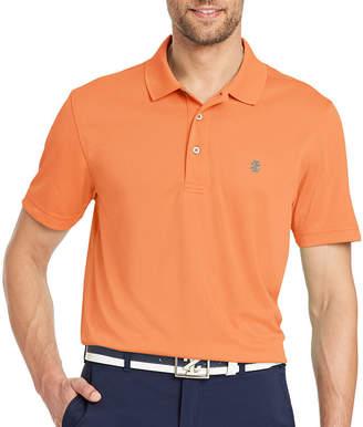 Izod Golf Champion Grid Short Sleeve Grid Polo Shirt