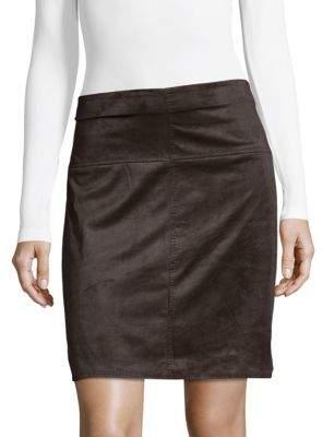 Max Studio Graphite A-Line Skirt