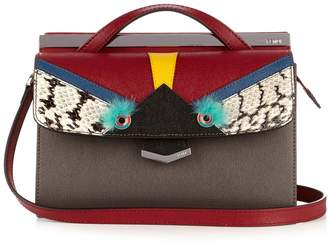 Fendi Demi Jour Bag Bugs small leather cross-body bag