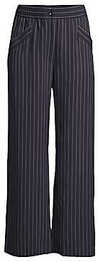 Eileen Fisher Women's Pinstripe Wide-Leg Pants