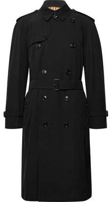 Burberry Westminster Cotton-Gabardine Trench Coat - Men - Black
