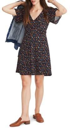 Madewell Garden Party Cross Front Minidress