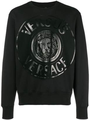 Versus logo medallion print sweatshirt