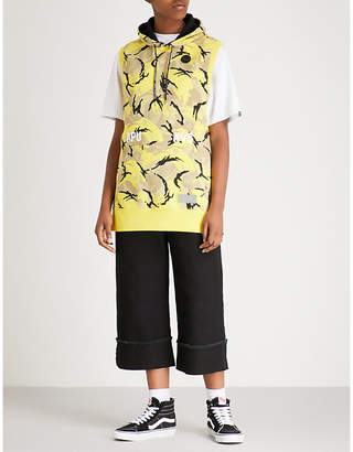 Aape Camouflage-print cotton-blend sweatshirt
