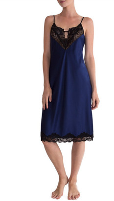 In Bloom by Jonquil Satin Midi Nightgown $68 thestylecure.com