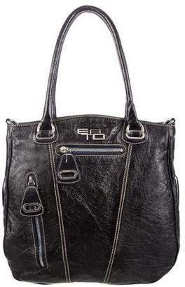Etro Textured Leather Satchel