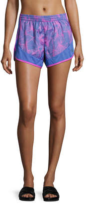 The North Face Altertude Hybrid Running Shorts, Blue Pattern