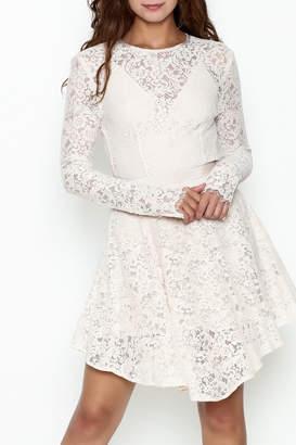 The Jetset Diaries Lace Mini Dress