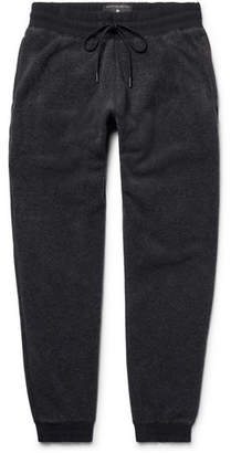 Reigning Champ Slim-Fit Tapered Shell-Trimmed Polartec Fleece Sweatpants - Charcoal
