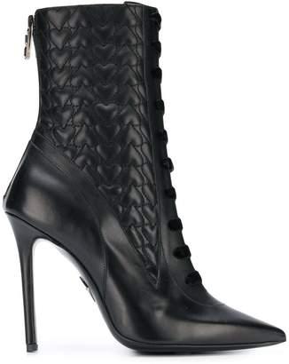 Aperlaï hearts ankle boots