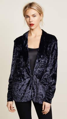 Hudson x Baja East Coco Velvet Jacket