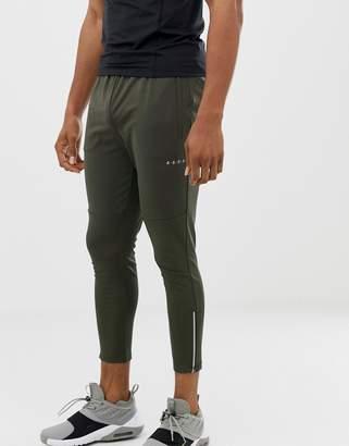 Asos 4505 super skinny training sweatpants with zip cuff in khaki