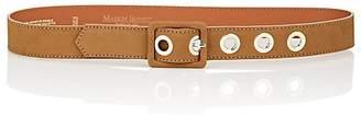 MAISON BOINET Women's Nubuck Leather Belt