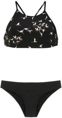 OSKLEN printed bikini top