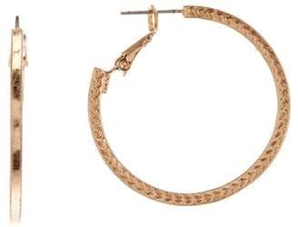 Melrose and Market 30mm Textured Hoop Earrings