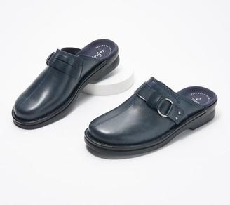 Clarks Leather Slip-On Clogs - Patty Lorene