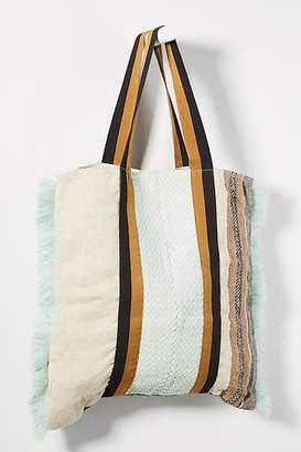 Claramonte Feria Fringed Tote Bag