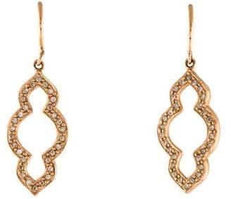 Sydney Evan 14K Diamond Moroccan Drop Earrings
