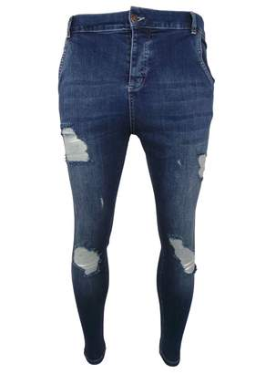 SikSilk Skinny Distressed Denim S