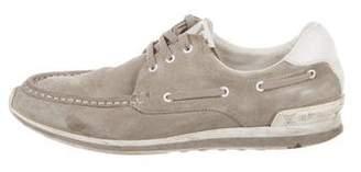 Louis Vuitton Suede Boat Shoes