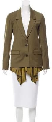 Thakoon Virgin Wool Contrast Blazer w/ Tags
