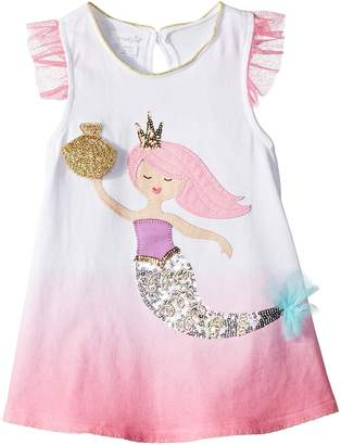 Mud Pie Mermaid Flutter Sleeve Tunic Girl's Clothing