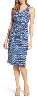 Petite Women's Nic+Zoe Triangle Tiles Sheath Dress $168 thestylecure.com