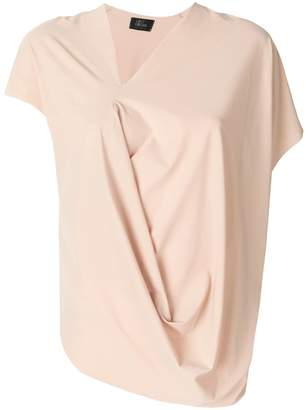 Lost & Found Ria Dunn short-sleeve draped blouse