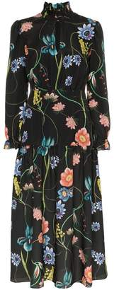 Borgo de Nor Eugenia floral print keyhole dress