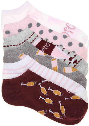 Mix No. 6 Rose No Show Socks - 6 Pack - Women's