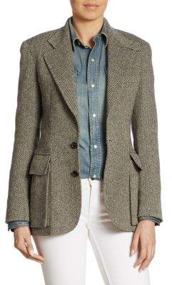 Ralph Lauren Iconic Preston Herringbone Jacket