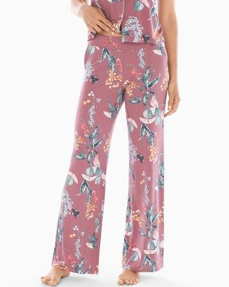 Mulberry Cool Nights Pajama Pants Curio Floral