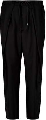 Juun.J Drawstring Pleated Trousers
