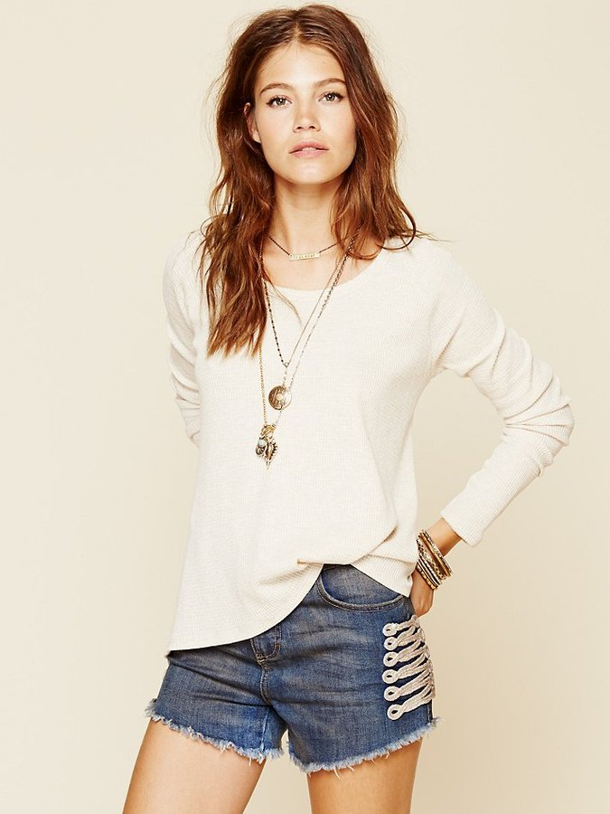 Free People Chariot Cut Off