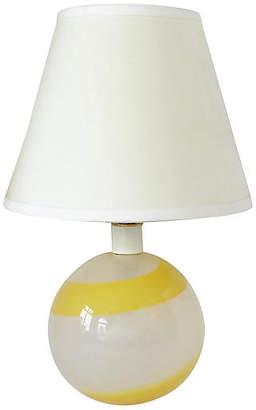 One Kings Lane Vintage Italian Glass Table Lamp - Retro Gallery
