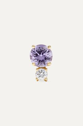 Jemma Wynne 18-karat Gold, Sapphire And Diamond Earring - one size