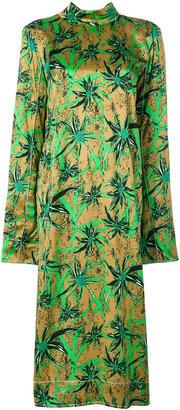 Herbage satin dress