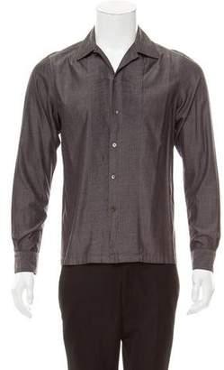 YMC Long Sleeve Button-Up Shirt