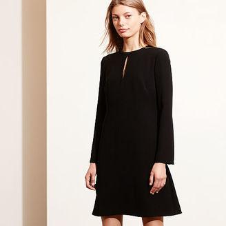 Ralph Lauren Crepe A-Line Dress $139 thestylecure.com
